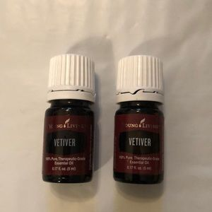 NWT Vetiver Essential Oil Young Living 5 ml